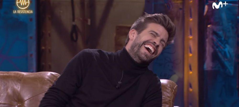 """Raspunsul GENIAL oferit de Gerard Pique la intrebarea """"De cate ori ai facut dragoste in ultima luna?"""" Suma incredibila pe care o are in conturi! VIDEO"""