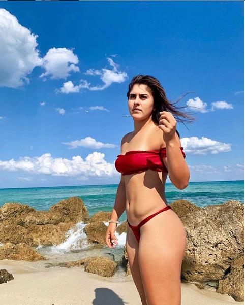 Bianca Andreescu, fotografie sexy la plaja! Noua senzatie din tenis face furori pe internet! FOTO