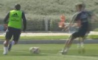Cum se pregateste Roberto Carlos la 45 de ani! Brazilianul a facut senzatie la antrenamentul Realului! VIDEO