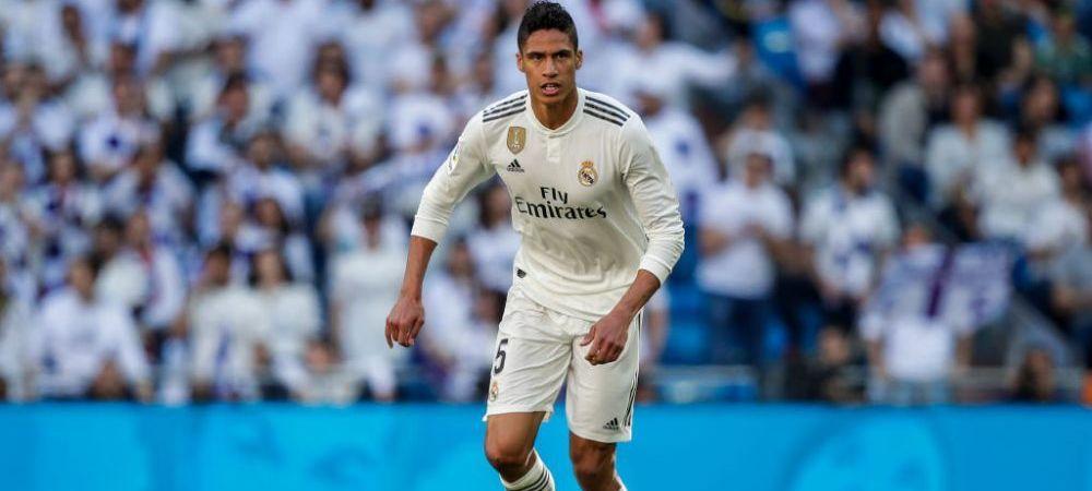 """Real Madrid a gasit un inlocuitor """"imposibil"""" pentru Varane! """"Nu se va misca de aici"""" Transferul cel mai greu de atins pentru Zidane"""