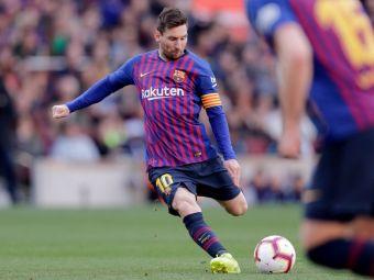 EXTRATERESTRU! Messi a inventat o noua nebunie: PANENKA din lovitura libera! Ce a putut sa faca in derby-ul cu Espanyol