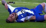 VIDEO! A batut penalty si apoi a inceput sa urle de durere! Moment incredibil in meciul Braga - Porto