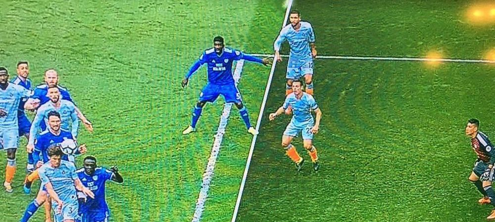 Nici in liga a 4-a NU VEZI asa ceva! Offside SOCANT ignorat de arbitru la meciul lui Chelsea! Foto