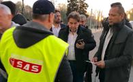 Tatal lui Neymar, superagentul Zahavi si Di Francesco, la Craiova - FCSB! Ce au declarat la stadion