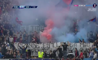 FCSB - CRAIOVA | Atmostera de super derby la FCSB - Craiova! Petarde si fumigene in peluza stelista