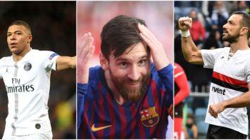Messi, cu o saptamana mai aproape de a 6-a Gheata de Aur! Dubla din derbyul cu Espanyol ii consolideaza avansul fata de Mbappe! CLASAMENTUL