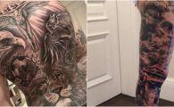 """""""Ce parere aveti de noul meu tatuaj?"""" Fotbalistul de milioane care si-a umplut corpul cu desene! FOTO"""