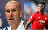 """Zidane a vorbit despre transferul lui Paul Pogba! """"De ce sa nu vina la Real Madrid daca asta vrea?"""" Ce a spus de jucatorul lui Manchester United!"""