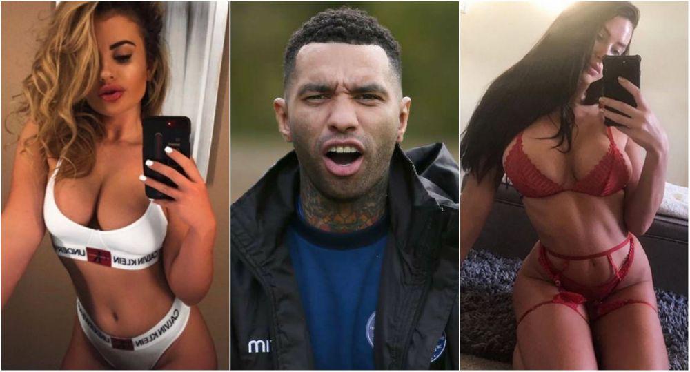Sa iubesti doua femei! Fotbalistul celebru care a aparut in filme XXX alaturi de iubita sa a inselat-o cu o blonda cu 12 ani mai tanara! GALERIE FOTO