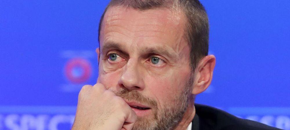 """""""Trebuie oprite meciurile alfel nimic nu se va schimba!"""" Anunt incredibil facut de presedintele UEFA"""