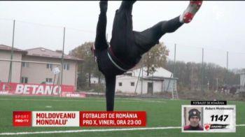 Moldoveanu de la Petrolul, propus la golul anului in lume! Eric vrea sa-i dea trofeul castigat de Ronaldo, Neymar sau Ibrahimovic