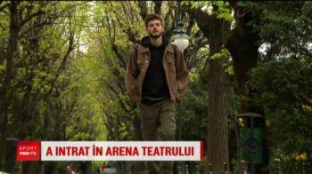 Nepotul lui Balaci a lasat fotbalul pentru teatru!A jucat cu Ianis si Razvan Marin, dar acum ridica lumea in picioare in fata scenei