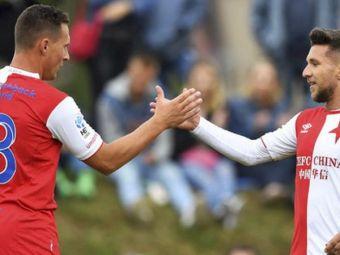 VIDEO   CE GOOOL! Baluta a marcat din nou pentru Slavia dupa o pauza de 6 LUNI: a contribuit la calificarea echipei in semifinalele Cupei
