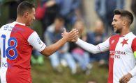 VIDEO | CE GOOOL! Baluta a marcat din nou pentru Slavia dupa o pauza de 6 LUNI: a contribuit la calificarea echipei in semifinalele Cupei