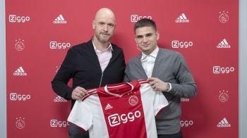 OFICIAL! Razvan Marin este noul jucator al lui Ajax Amsterdam! Suma anuntata de olandezi pentru transfer