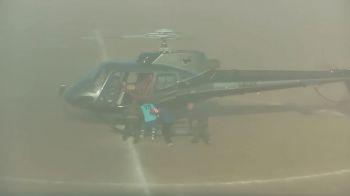 Rapire ca in filme pe un stadion din Italia! Un jucator a fost luat de mascati cu elicopterul! Ce s-a intamplat | VIDEO