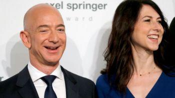Lovitura uriasa pentru fondatorul Amazon! Divortul s-a finalizat: fosta lui sotie primeste primeste actiuni de 35.7 miliarde de dolari