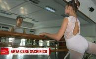 Gratia de la balet se obtine cu o disciplina de fier! Povestea uneia dintre cele mai talentate balerine din Romania: ce sacrificii face la doar 13 ani