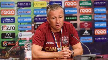 """Tucudean RATEAZA derby-urile cu Craiova si FCSB! Anuntul facut de Dan Petrescu: """"E normal sa dureze ceva!"""""""