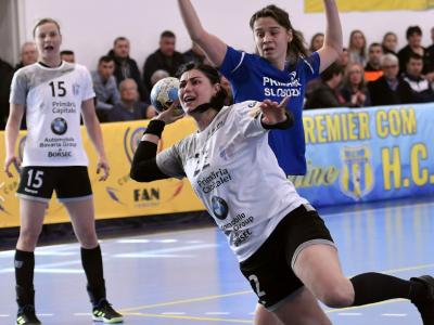 CSM Bucuresti, sanse minime pentru FINAL FOUR: 26-31 in meciul tur cu Metz!