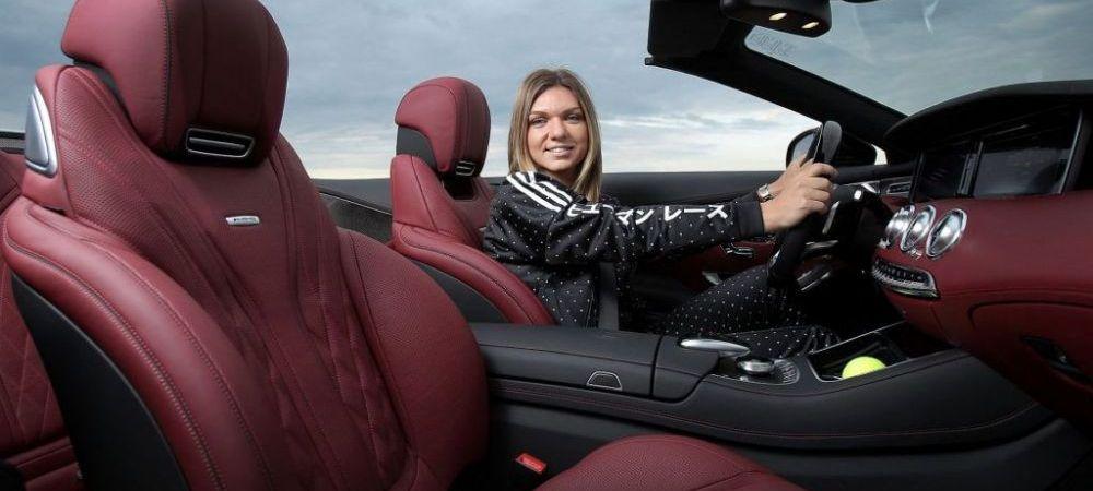 "Simona Halep si-a luat masina noua de 150.000 euro si i-a dat imediat mesaj lui Valtteri Bottas: ""Provocare acceptata"". GALERIE FOTO"