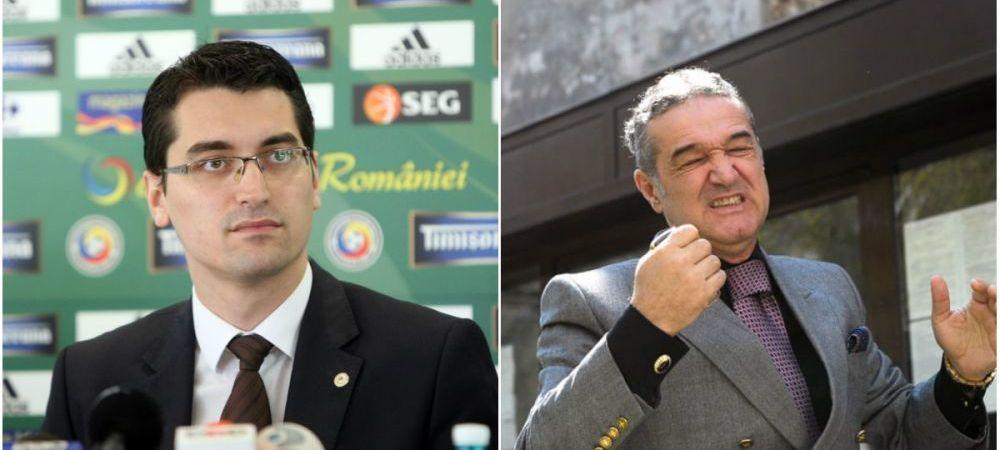 ULTIMA ORA | Burleanu, raspuns fara echivoc pentru Becali, dupa ce FCSB a cerut arbitri straini la derbyul cu CFR Cluj