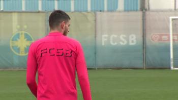Fotbalistul aparut astazi la antrenamentul FCSB-ului! Se va antrena sub comanda lui Teja, dar nu poate juca pana in iulie