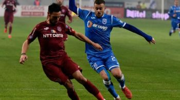 CRAIOVA - CFR 0-0! A iesit asa cum si-a dorit FCSB! CFR o scoate pe Craiova din lupta pentru titlu