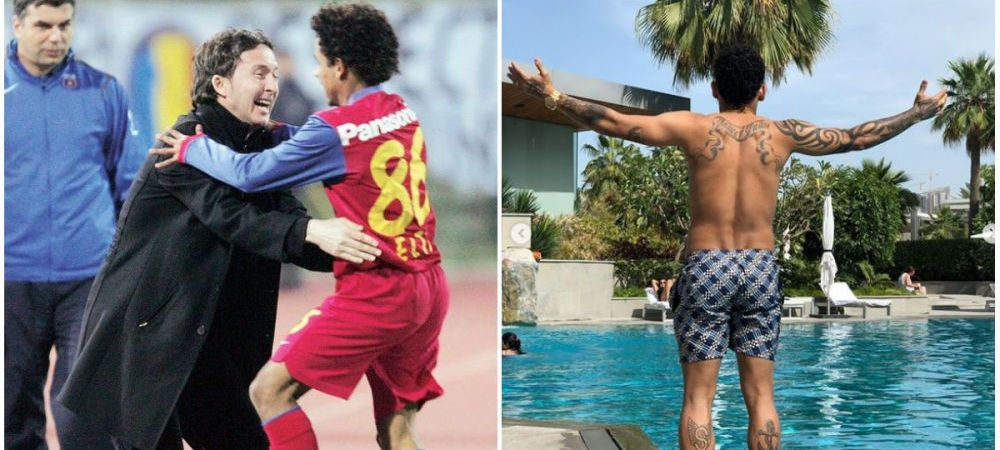 Mihai Stoica nu l-a uitat pe Elton! Mesaj special pentru cel mai scund fotbalist! Cum arata acum brazilianul care face senzatie in Arabia! FOTO