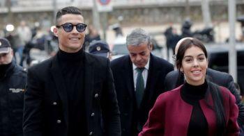 Cate scaune ar intoarce? Cristiano Ronaldo, talentat si la capitolul muzica! Cum a cantat alaturi de Georgina si Cristiano Ronaldo Jr!