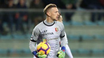 Meci de zile mari pentru Ionut Radu! Portarul de la U21 a salvat-o pe Genoa cu interventii FABULOASE: partida se putea termina 4-1 pentru Napoli