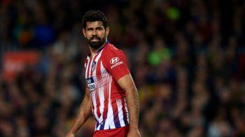 SUSPENDARE URIASA pentru Diego Costa dupa cuvintele revoltatoare adresate arbitrului! Atacantul s-a dezlantuit in meciul Barca - Atletico si a primit rosu direct