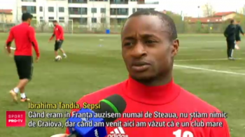 "Dorit de FCSB, Tandia de la Sepsi s-a indragostit de alta echipa din Romania si vrea sa ii bata pe ros-albastri: ""Am fost impresionat de fanii lor"""