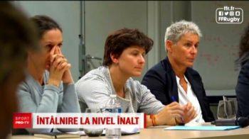 """Roxana Maracineanu, pusa in dificultate! Cu cine va tine ministrul sportului din Franta la meciul de FedCup: """"Pai, va dati seama ca nu pot sa va dau alt raspuns!"""""""