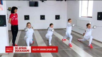 Fata lui Duckadam vrea sa devina campioana olimpica la ... scrima! Cum o incurajeaza eroul de la Sevilla cand pierde o partida