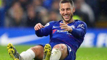 """Raspunsul neasteptat al lui Hazard cand a fost intrebat despre plecarea la Real Madrid! Cei de la Chelsea sunt disperati: """"E imposibil sa gasesti altul ca el!"""""""