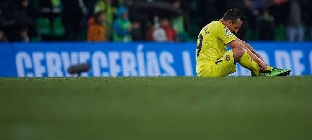 Imagini incredibile in Spania! Cazorla, distrus dupa ce a ratat penalty-ul care o poate retrograda pe Villarreal! VIDEO