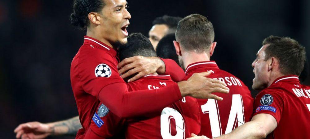 LIVERPOOL 2-0 PORTO, TOTTENHAM 1-0 MANCHESTER CITY | Liverpool a facut spectacol pe Anfield si a mai avut un gol anulat; Tottenham a dat lovitura pe final, dar l-a pierdut pe Kane