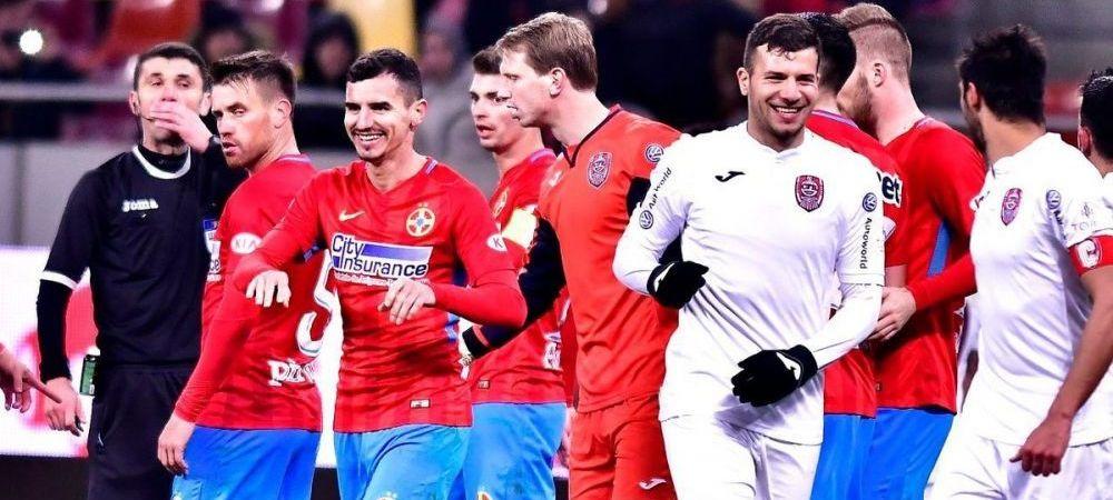 CFR Cluj - FCSB, meciul care poate decide titlul in Romania! Statistica de cosmar pentru Mihai Teja inainte de derby!