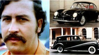 Fabuloasa colectie de masini in valoare de 250.000.000$ a lui Pablo Escobar! Cateva modele au ramas intacte: GALERIE FOTO
