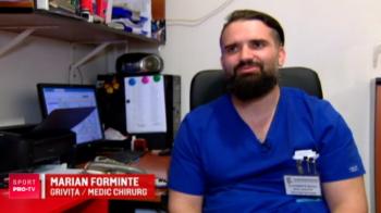 Un chirurg si un mecanic de avioane joaca pentru prima echipa din Romania care a luat Cupa Campionilor la rugby! Doctorul si-a operat unul dintre colegi!
