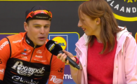 """Sindromul"" Pulev a lovit din nou! Ce a patit o jurnalista in timp ce ii lua interviu unui campion! VIDEO"