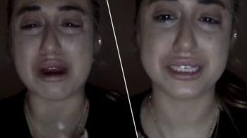 """Bloggerita care a izbucnit in lacrimi pentru ca si-a pierdut fanii de pe Instagram: """"Nu vreau sa am un job normal"""" VIDEO"""