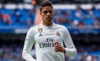 Varane se gandeste! Ultimele detalii despre plecarea complicata a francezului de la Real Madrid: marele obstacol
