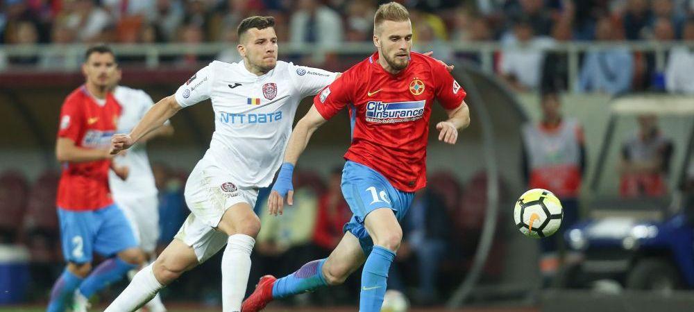 CFR Cluj - FCSB | Cine arbitreaza meciul care poate decide titlul in Romania! Statistica infioratoare pentru Mihai Teja!