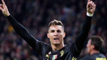"""""""Cristiano Ronaldo 41, Leo Messi 16!"""" Cifrele FABULOASE ale starului lui Juventus dupa reusita cu Ajax"""