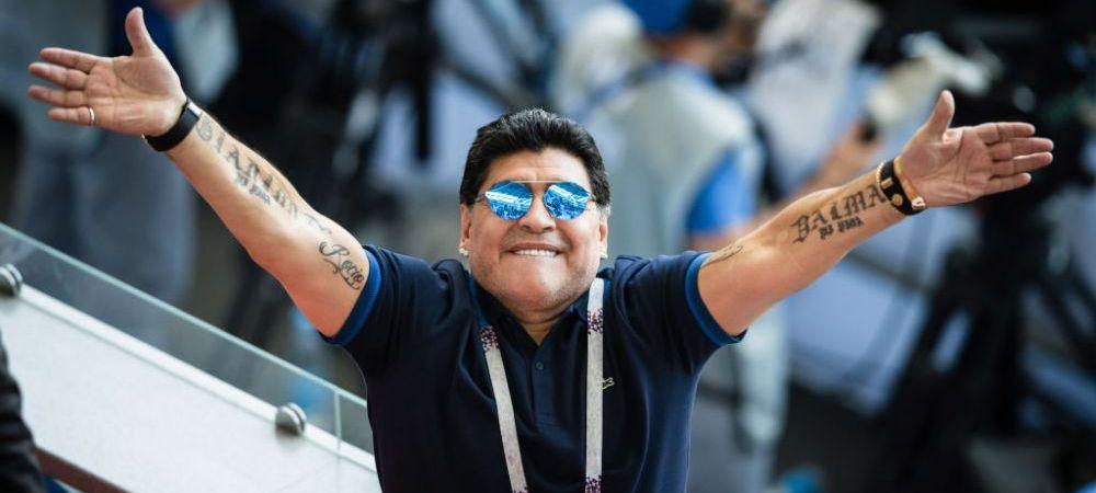"""""""Mi-a luat tricoul si l-a aruncat in iarba"""" Un fost mare international roman, umilit de Diego Maradona! Ce a urmat!"""
