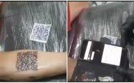 Pasiunea pentru fotbal chiar poate intrece orice limite! Tatuajul NEBUN facut de un fan al lui River Plate! Ce se intampla cand il scanezi!