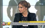 NO COMMENT! :) Cum a venit imbracata Ana Maria Prodan in direct la TV. Ce scria mare pe tricoul ei