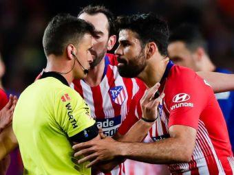 ULTIMA ORA   Decizia Comisiei de Apel din Spania in cazul Diego Costa! Atletico a facut apel la suspendarea de 8 etape pentru gestul incalificabil al atacantului